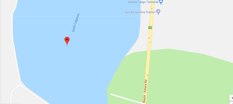موقعیت دریاچه متحرک