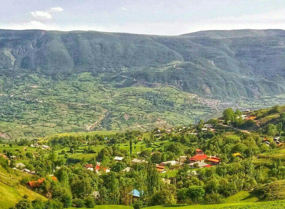مسیرهای گردشگری رودبار - روستای سیبن خورگام