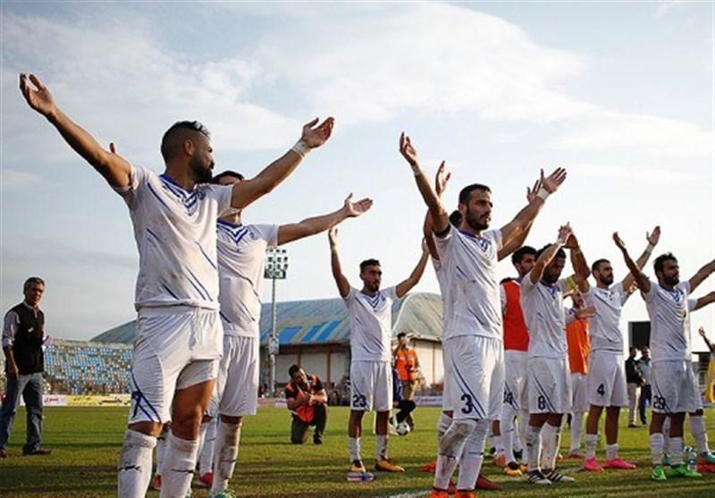 برتری تیم ملوان بندر انزلی